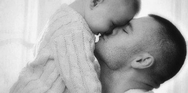 Father Holding Baby