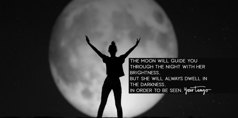 feminine energy quotes about the moon national moon day
