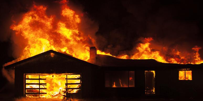 My House Went Up In Flames — And So Did My Marriage