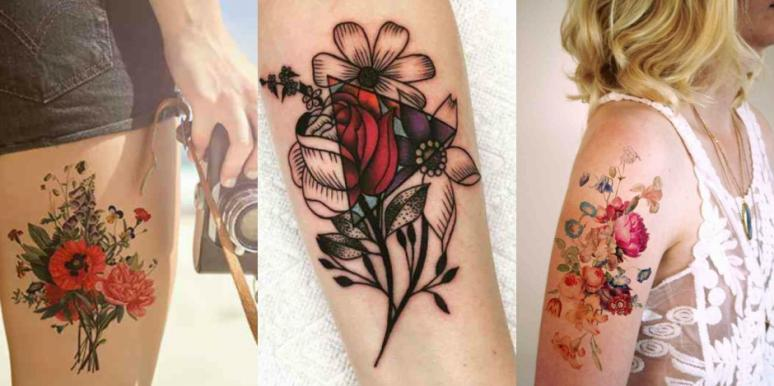 35 Best Flower Tattoos For Women That Will Inspire You To Get Inked