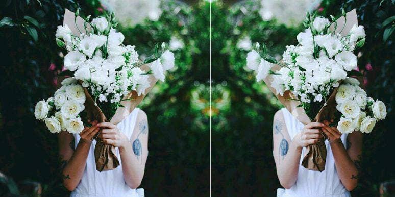 A Women Should Buy Herself Flowers