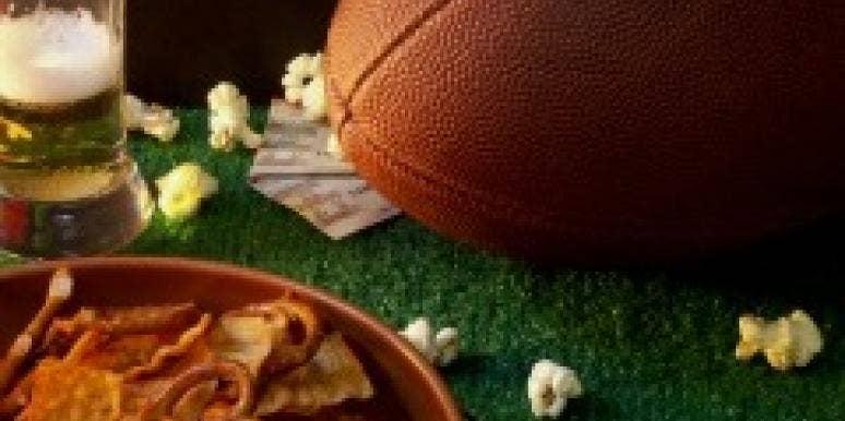 Football party fall
