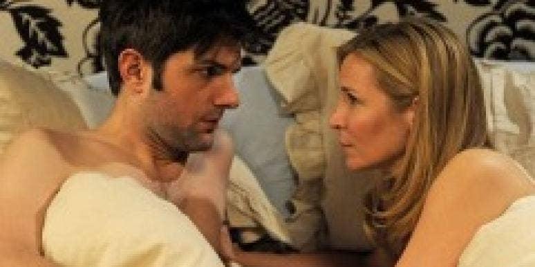 Jennifer Westfeldt and Adam Scott in 'Friends With Kids.'