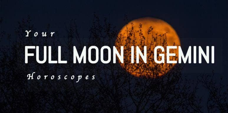 Full Moon In Gemini Astrology Effects On Each Zodiac Signs November
