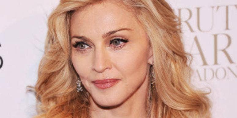 Madonna blonde hair