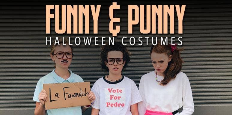 funny halloween costume ideas punny halloween costumes