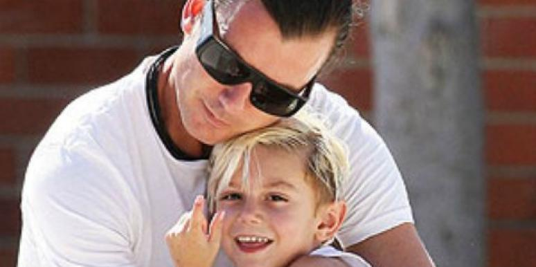 Gavin Rossdale with son Kingston