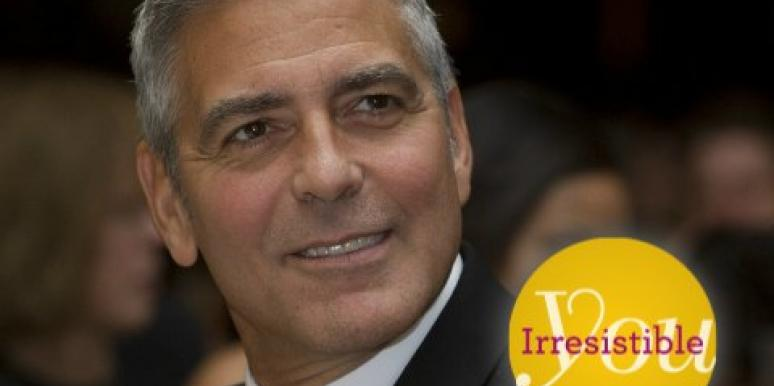 George Clooney irresistible