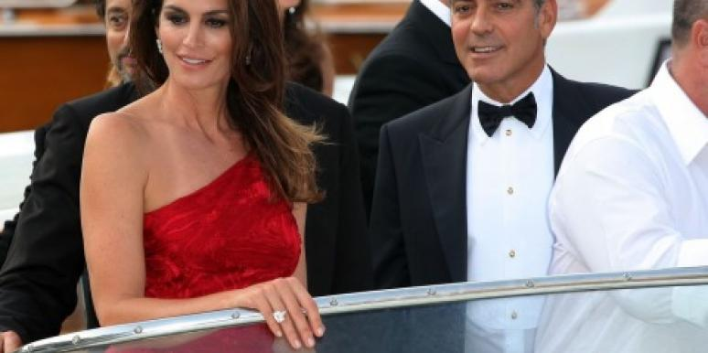 George Clooney & Cindy Crawford