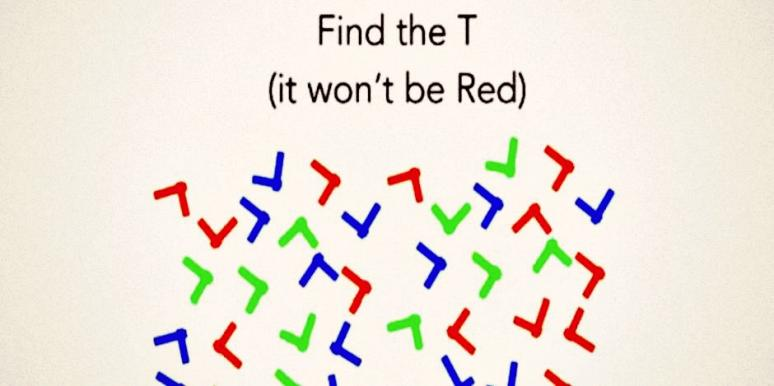 If You Can Find The 'T' In This Puzzle Test, You're Gifted