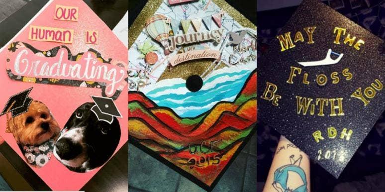 Graduation Cap Designs Grad Cap Decoration Ideas From Instagram