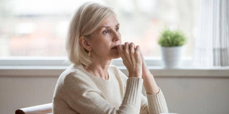 woman going through Gray Divorce