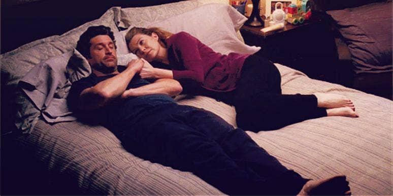 sleeping with husband