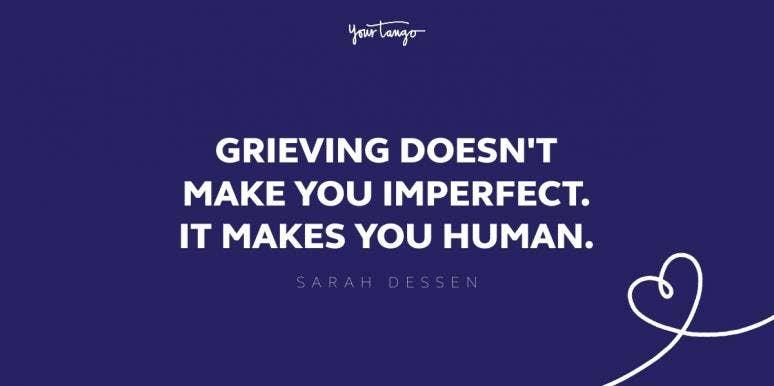 sarah dessen grief quote