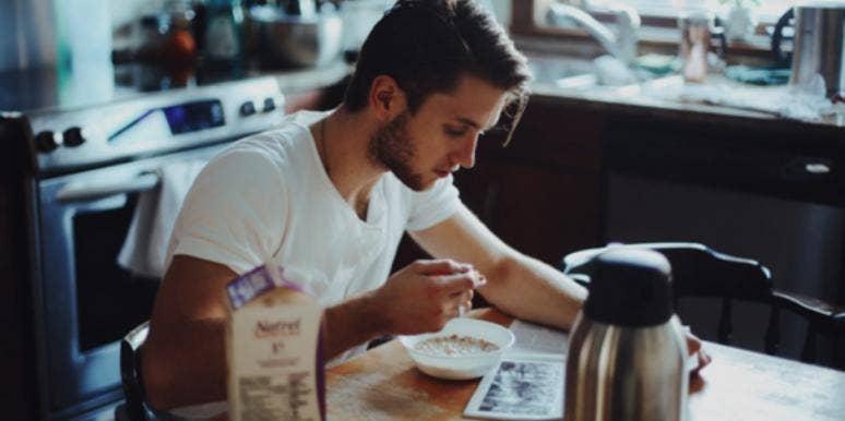 guy in kitchen