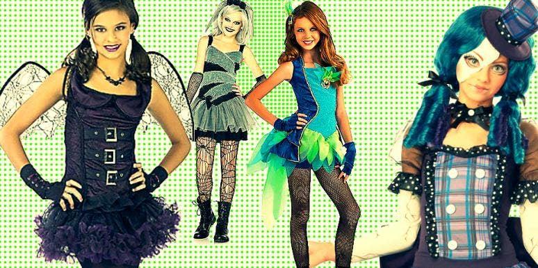 sexy halloween costumes tweens family parenting