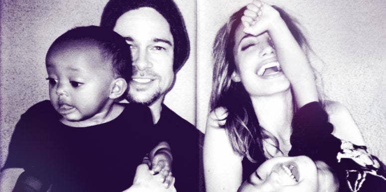 Brad and Angelina and Family