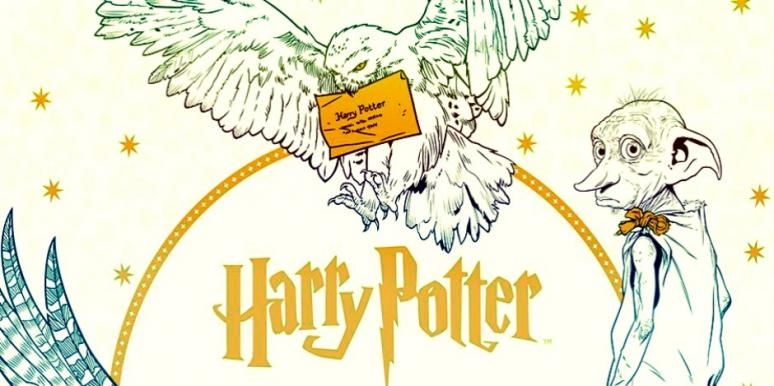 We\'re Losing Our NARGLES Over A Harry Potter Coloring Book | YourTango