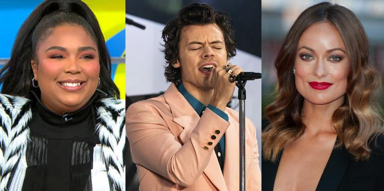 Lizzo, Harry Styles, and Olivia Wilde