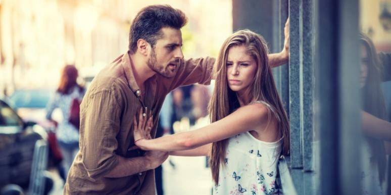 man and woman having difficult conversations
