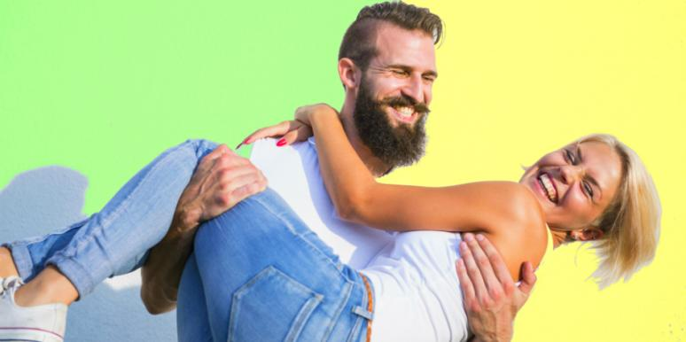signs a guy is attracted to you body language