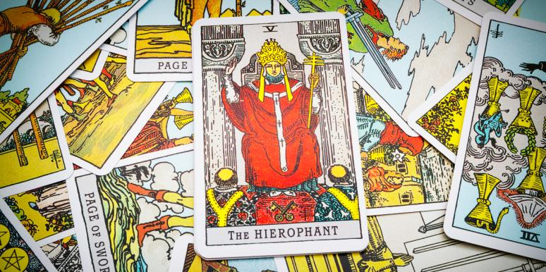 Hierophant Tarot Card Meanings: Upright, Reversed & In Love