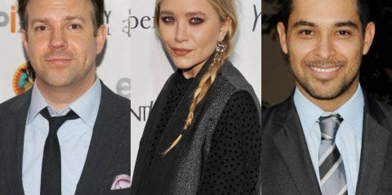 Jason Sudeikis, Mary-Kate Olsen & Wilmer Valderrama