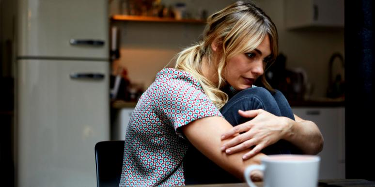 woman in an emotionally abusive relationship