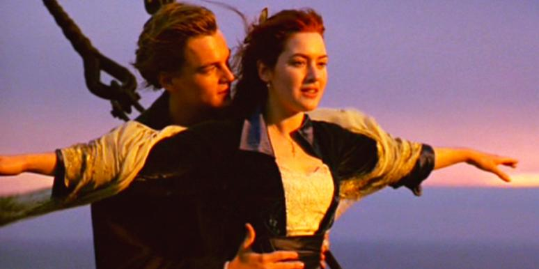 jack and rose from titanic