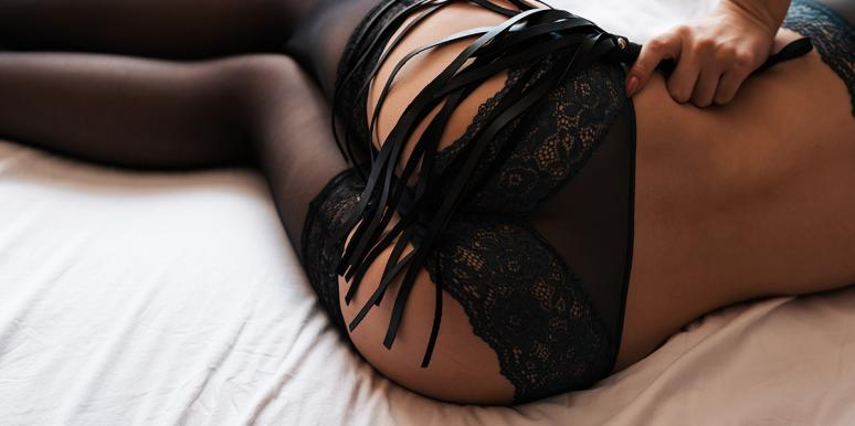 woman with lingerie
