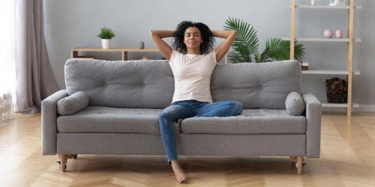 girl living alone