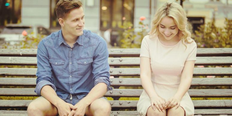 couple experiencing sexual tension and compatibility