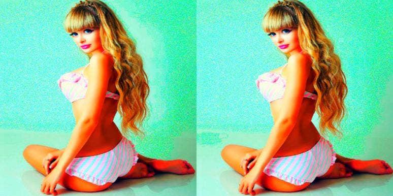 Human Barbie *Swears* She Hasn't Had Plastic Surgery