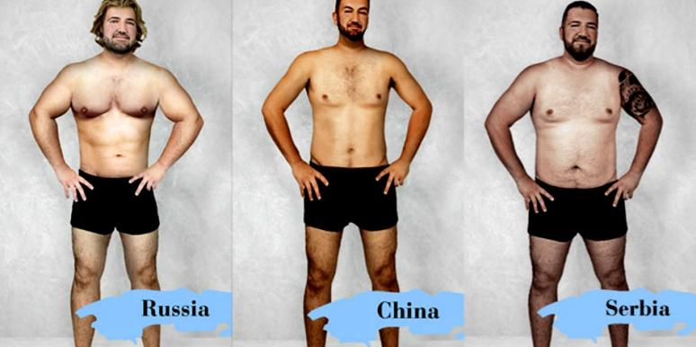 What 'Perfect' Male Body Types Look Like Around The World