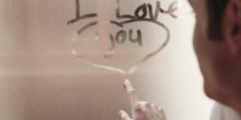 i love you shower