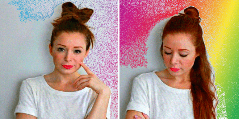 8 lazy easy hairdos for busy girls who just can t be bothered