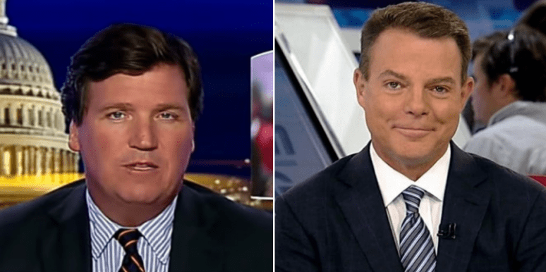 All The Deets On The Shep Smith/Tucker Carlson Feud At Fox News