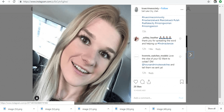 Where Is MacKenzie Lueck? New Details On The University Of Utah Student Who's Been Missing Since Lyft From Salt Lake City Airport Last Monday