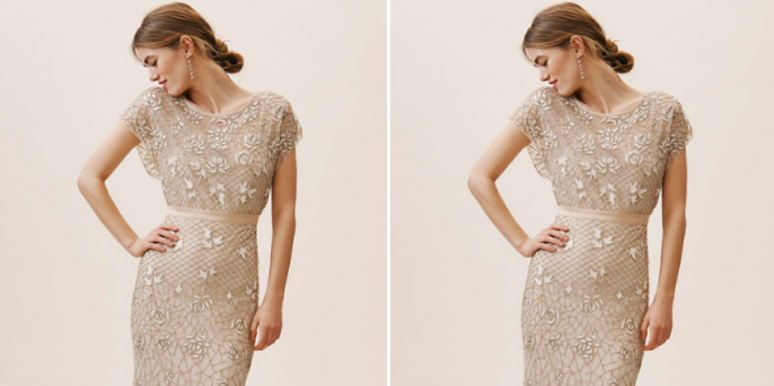20 Beautiful Sheath Dresses For Your Wedding Day