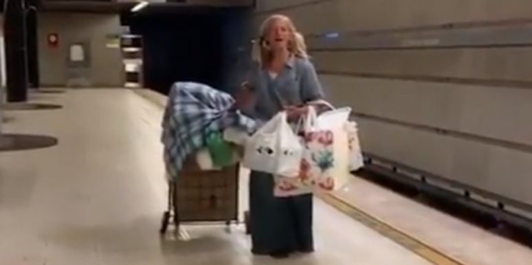 Who Is Emily Zamourka? Details On The Homeless Woman Singing Opera In The LAPD's Viral Video On Twitter