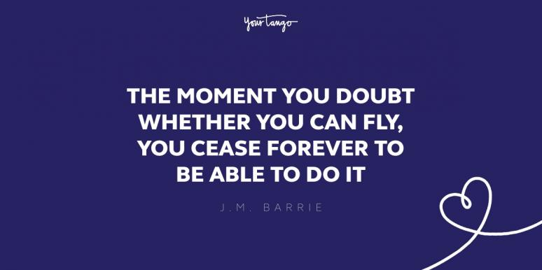 jm barrie imagination quote