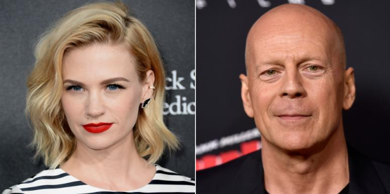 Did January Jones And Bruce Willis Have An Affair? New Details On The Explosive Claim In Demi Moore's Memoir
