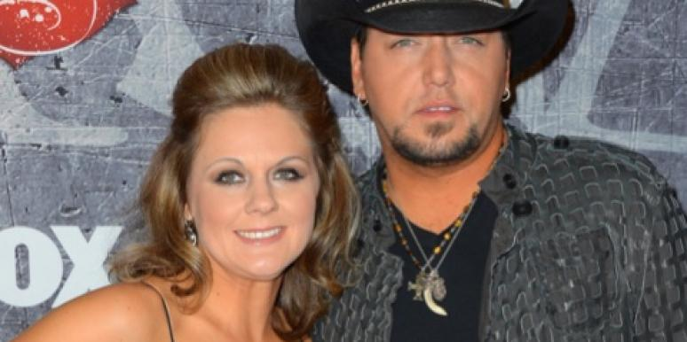Jason Aldean and his wife Jessica Ussery