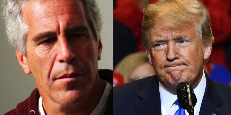 Jeffrey Epstein and Donald Trump