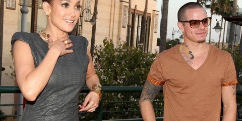 Jennifer Lopez with Casper Smart