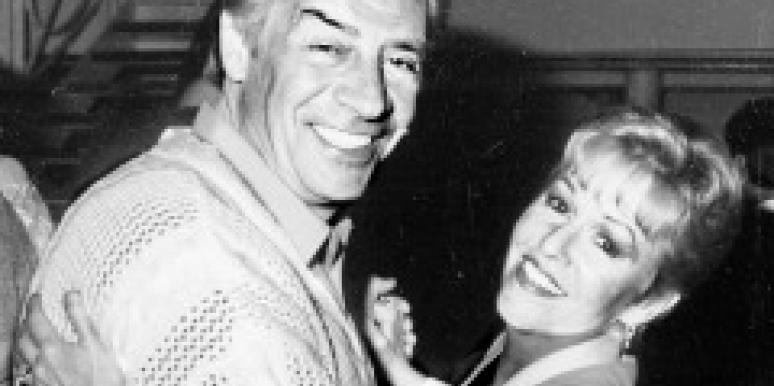 Jerry Orbach with wife Elaine Orbach dancing