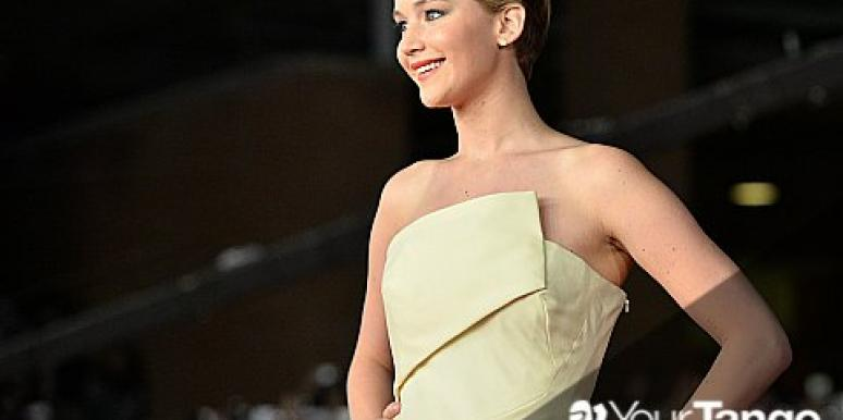 Jennifer Lawrence Talks Love, 'Catching Fire' & Morning Sickness?