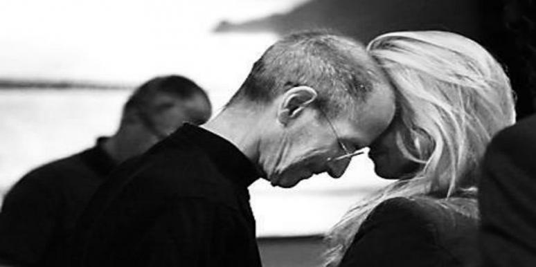 love story of Steve Jobs and his wife