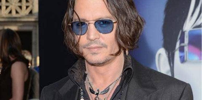 Johnny Depp Dark Shadows premiere