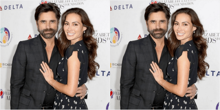 john stamos baby and wife
